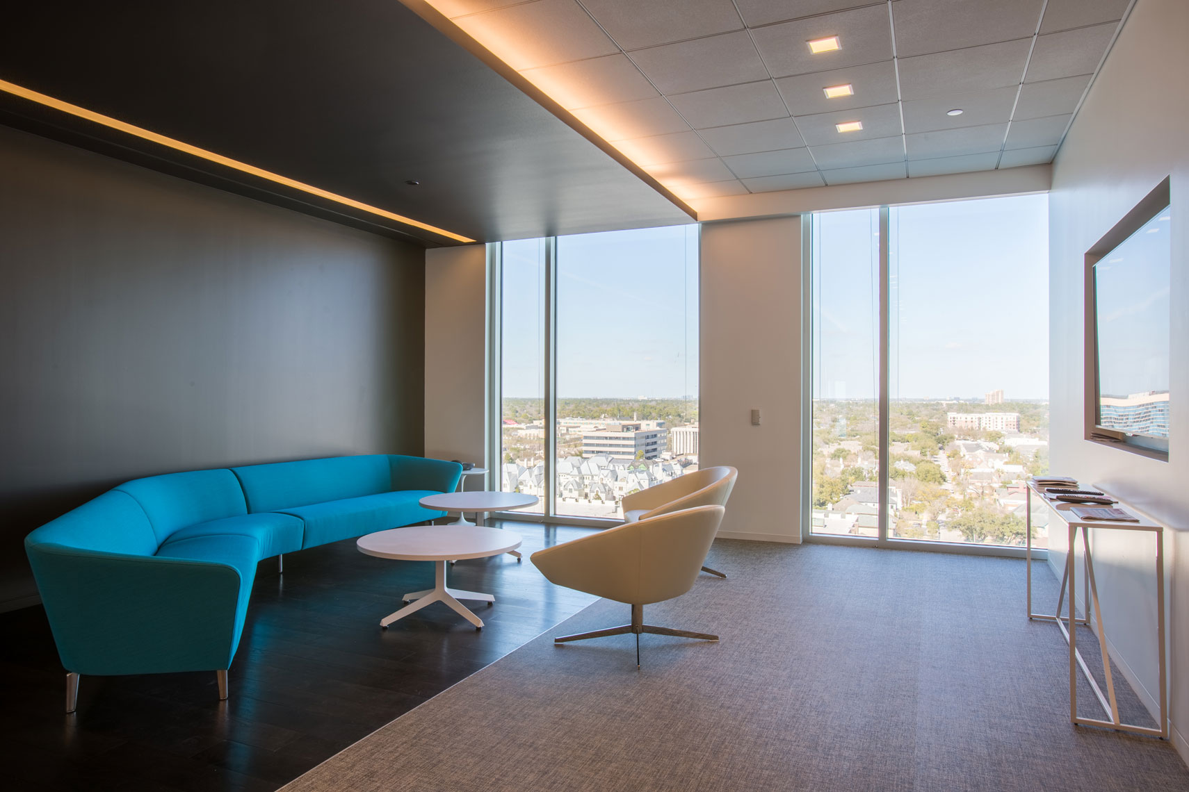 an example of a corporate interior design photography in San Antonio