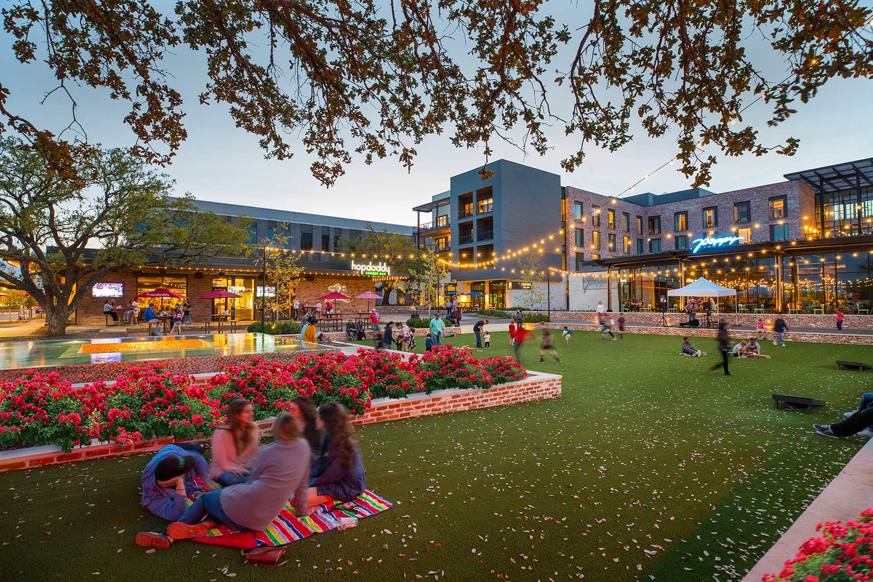 Century Square in College Station by Houston Architectural Photographer Shannon O