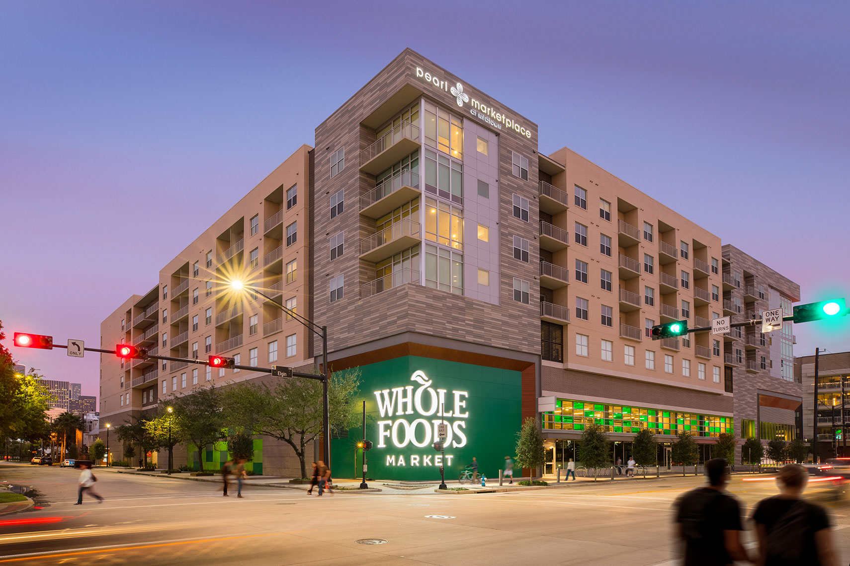 the Whole Foods Market at the Pearl in Midtown by Houston Architecture Photographer Shannon O