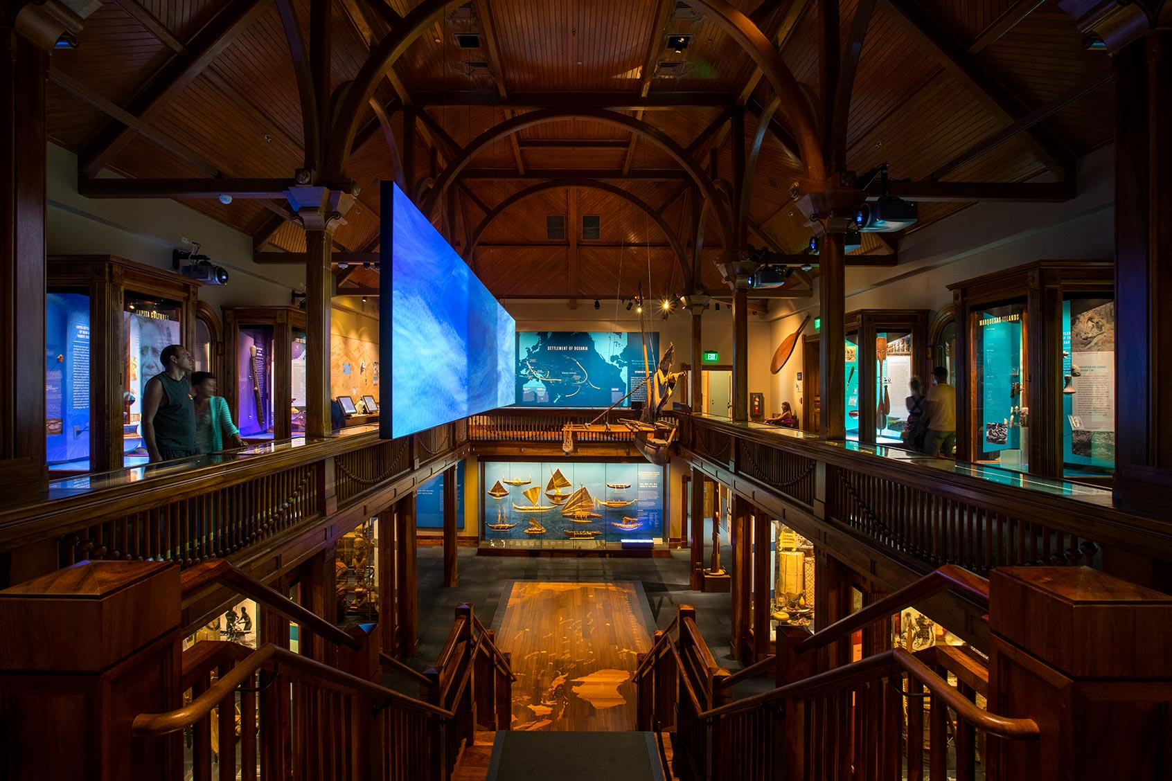 Bishop Museum in Honolulu by Houston Architectural Photographer Shannon O