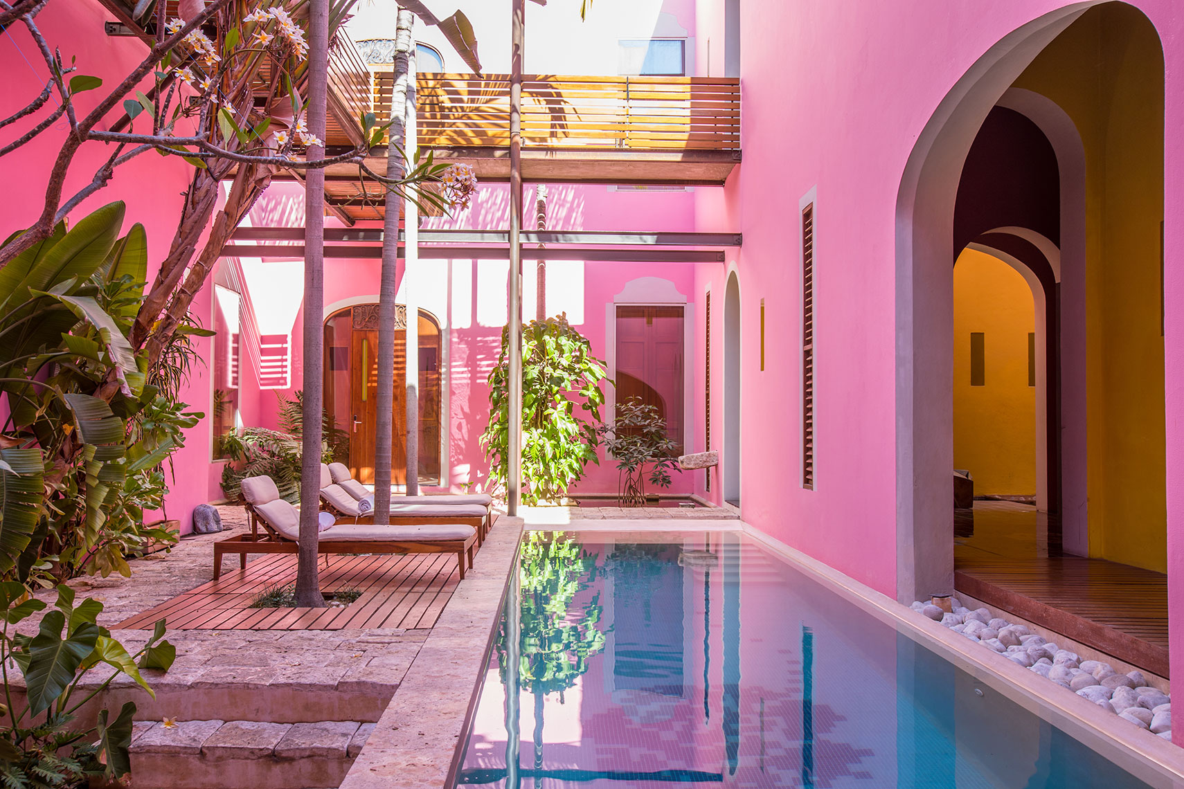 Rosas & Xocolate Boutique Hotel + SPA in Merida Mexico by Hotel Photographer Shannon O